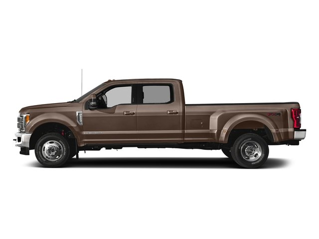 Stone Gray Metallic 2018 Ford Super Duty F-350 DRW Pictures Super Duty F-350 DRW Crew Cab King Ranch 2WD photos side view