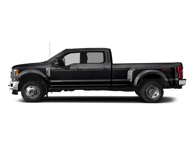 Shadow Black 2018 Ford Super Duty F-350 DRW Pictures Super Duty F-350 DRW Crew Cab King Ranch 2WD photos side view