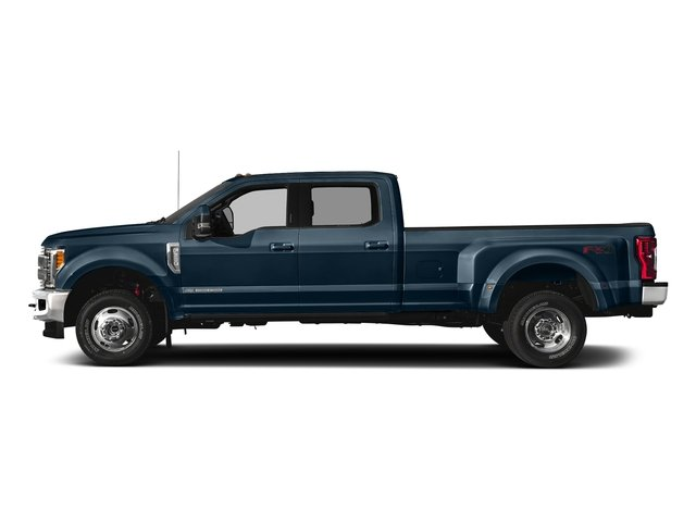 Blue Jeans Metallic 2018 Ford Super Duty F-350 DRW Pictures Super Duty F-350 DRW Crew Cab King Ranch 2WD photos side view
