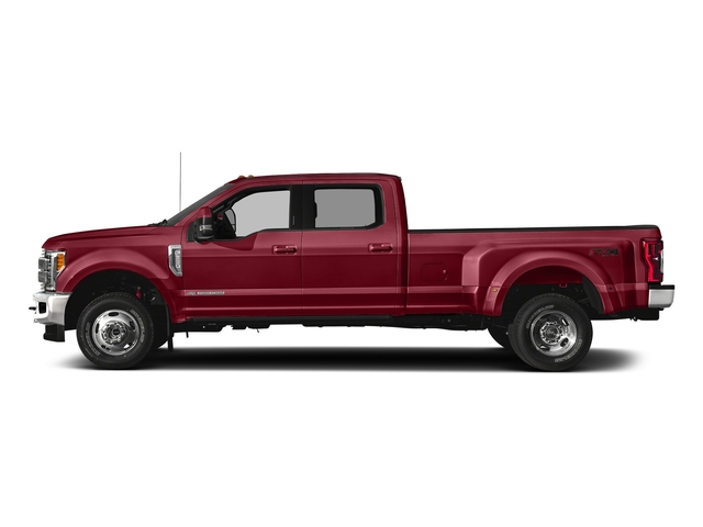 Ruby Red Metallic Tinted Clearcoat 2018 Ford Super Duty F-350 DRW Pictures Super Duty F-350 DRW Crew Cab King Ranch 2WD photos side view