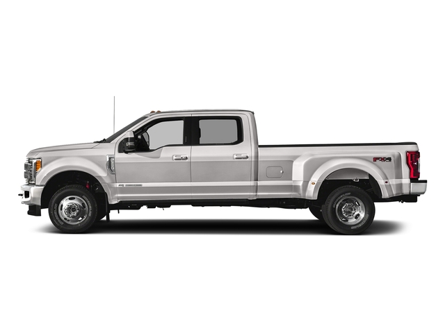 White Platinum Metallic Tri-Coat 2018 Ford Super Duty F-350 DRW Pictures Super Duty F-350 DRW Crew Cab King Ranch 2WD photos side view