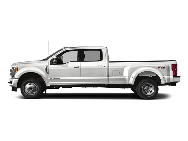 Oxford White 2018 Ford Super Duty F-350 DRW Pictures Super Duty F-350 DRW Crew Cab King Ranch 2WD photos side view