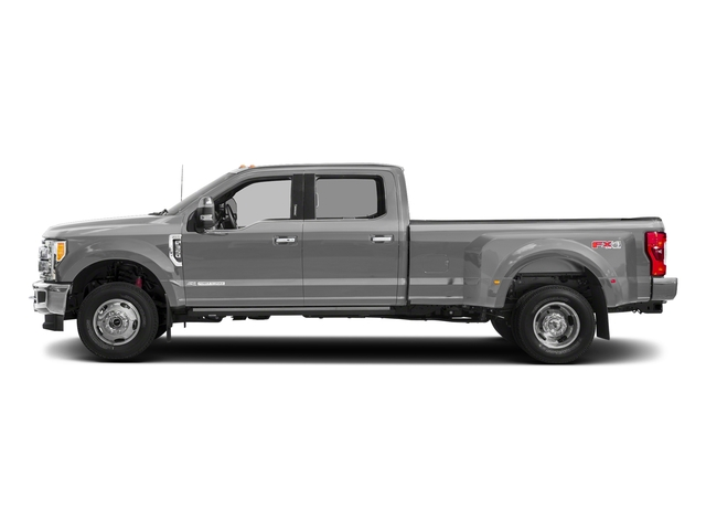 Ingot Silver Metallic 2018 Ford Super Duty F-350 DRW Pictures Super Duty F-350 DRW Platinum 4WD Crew Cab 8' Box photos side view