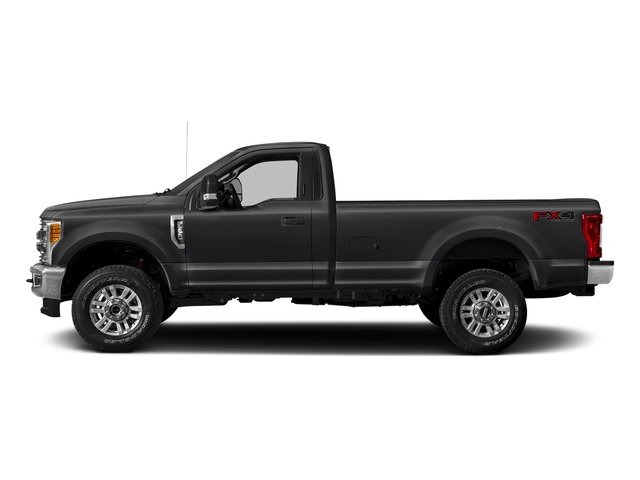 Shadow Black 2018 Ford Super Duty F-250 SRW Pictures Super Duty F-250 SRW XLT 2WD Reg Cab 8' Box photos side view