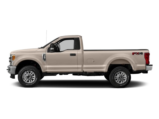 White Gold Metallic 2018 Ford Super Duty F-250 SRW Pictures Super Duty F-250 SRW XLT 2WD Reg Cab 8' Box photos side view