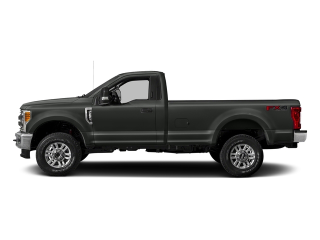 Magnetic Metallic 2018 Ford Super Duty F-250 SRW Pictures Super Duty F-250 SRW XLT 2WD Reg Cab 8' Box photos side view