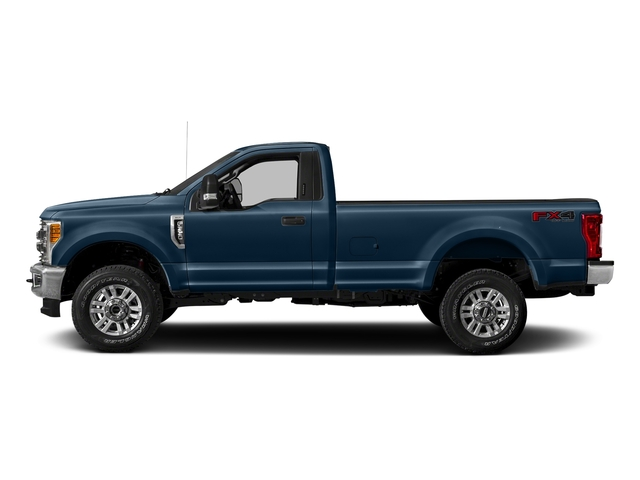 Blue Jeans Metallic 2018 Ford Super Duty F-250 SRW Pictures Super Duty F-250 SRW XLT 2WD Reg Cab 8' Box photos side view