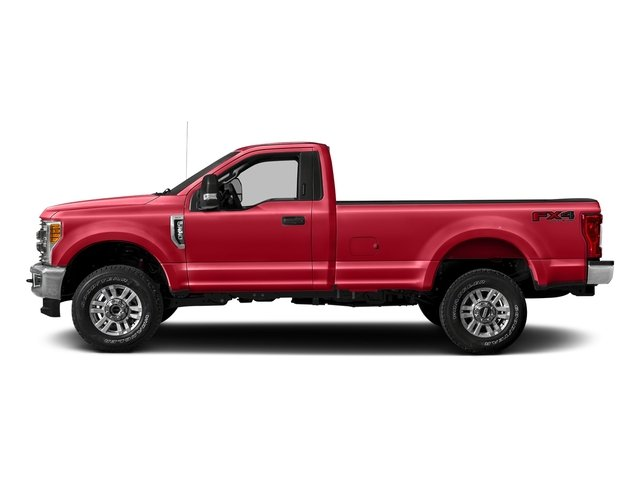 Race Red 2018 Ford Super Duty F-250 SRW Pictures Super Duty F-250 SRW XLT 2WD Reg Cab 8' Box photos side view