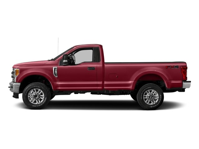 Ruby Red Metallic Tinted Clearcoat 2018 Ford Super Duty F-250 SRW Pictures Super Duty F-250 SRW XLT 2WD Reg Cab 8' Box photos side view