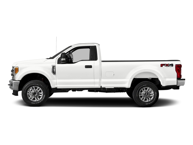 Oxford White 2018 Ford Super Duty F-250 SRW Pictures Super Duty F-250 SRW XLT 2WD Reg Cab 8' Box photos side view