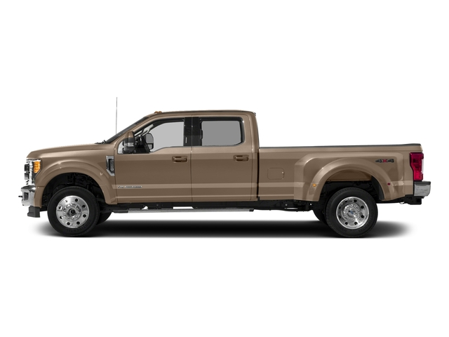 White Gold Metallic 2018 Ford Super Duty F-450 DRW Pictures Super Duty F-450 DRW Crew Cab XLT 4WD T-Diesel photos side view