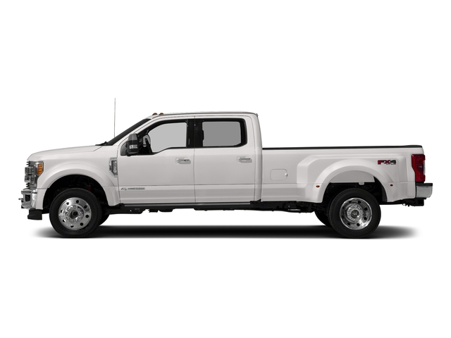 White Platinum Metallic Tri-Coat 2018 Ford Super Duty F-450 DRW Pictures Super Duty F-450 DRW Crew Cab King Ranch 2WD T-Diesel photos side view
