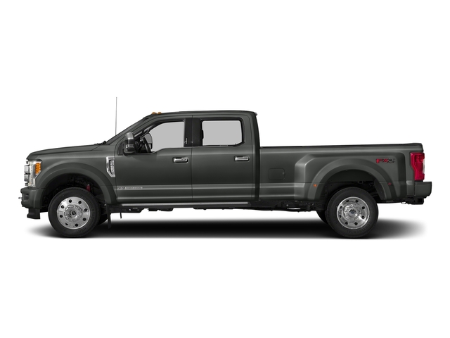 Magnetic Metallic 2018 Ford Super Duty F-450 DRW Pictures Super Duty F-450 DRW Platinum 2WD Crew Cab 8' Box photos side view