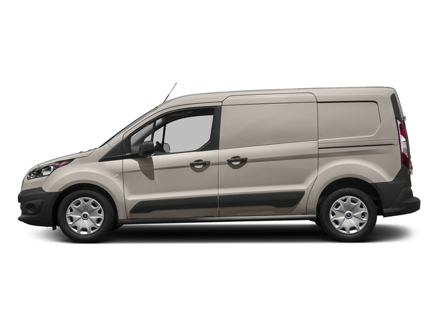 Silver Metallic 2018 Ford Transit Connect Van Pictures Transit Connect Van XL LWB w/Rear Liftgate photos side view