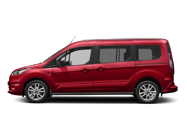 Race Red 2018 Ford Transit Connect Wagon Pictures Transit Connect Wagon XLT SWB w/Rear Symmetrical Doors photos side view