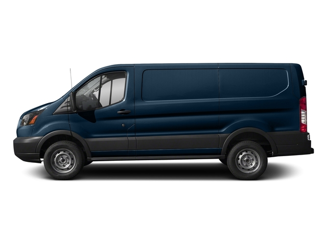 Blue Jeans Metallic 2018 Ford Transit Van Pictures Transit Van T-250 130 Low Rf 9000 GVWR Swing-Out RH Dr photos side view