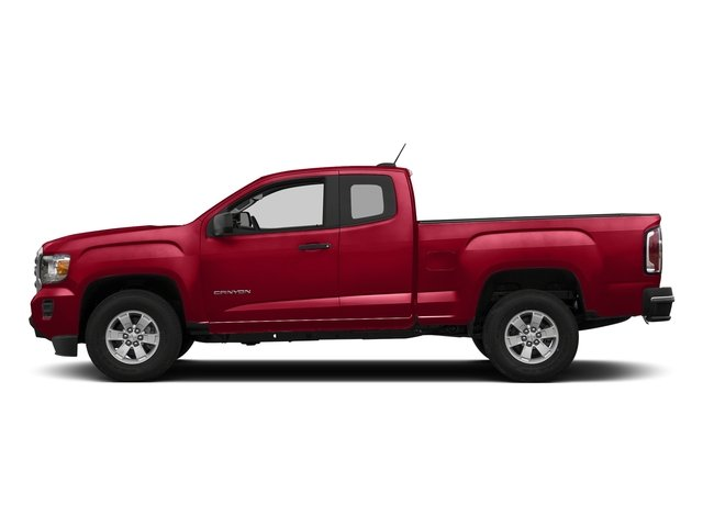 Cardinal Red 2018 GMC Canyon Pictures Canyon 2WD Ext Cab 128.3 photos side view