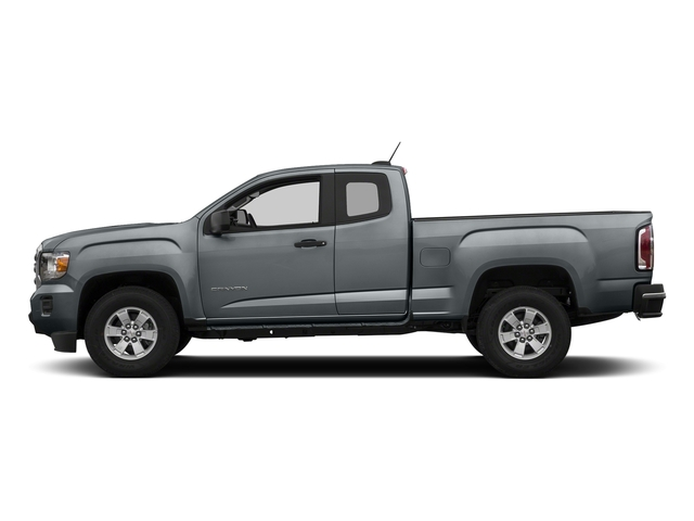 Satin Steel Metallic 2018 GMC Canyon Pictures Canyon 2WD Ext Cab 128.3 photos side view