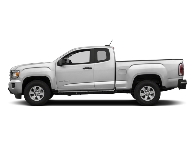 Summit White 2018 GMC Canyon Pictures Canyon 2WD Ext Cab 128.3 photos side view
