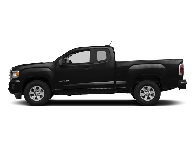 Onyx Black 2018 GMC Canyon Pictures Canyon 2WD Ext Cab 128.3 photos side view