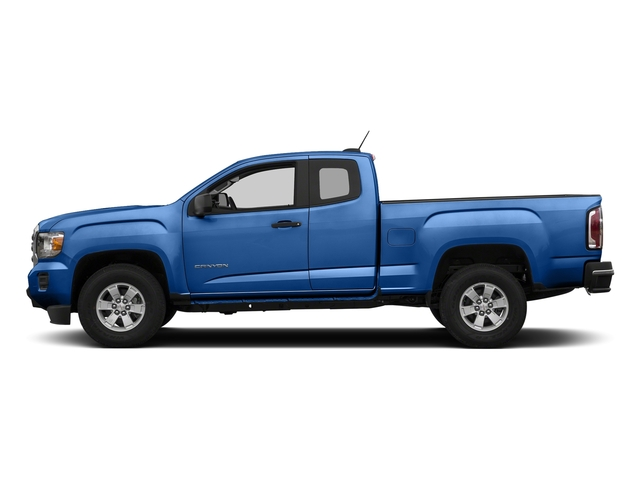 Marine Blue Metallic 2018 GMC Canyon Pictures Canyon 2WD Ext Cab 128.3 photos side view