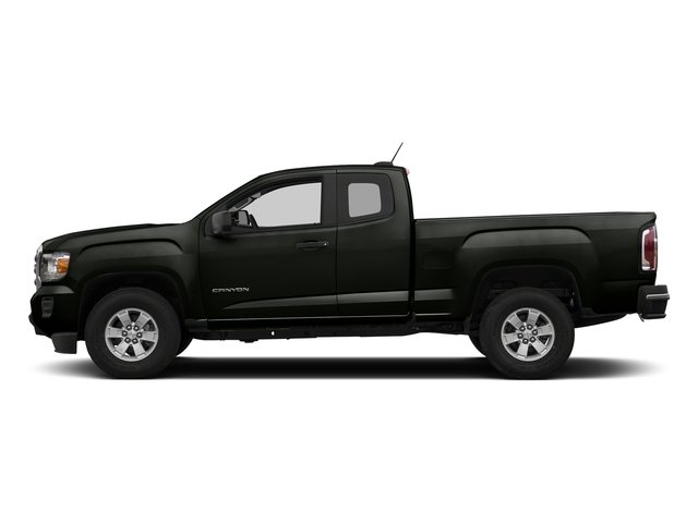 Dark Slate Metallic 2018 GMC Canyon Pictures Canyon 2WD Ext Cab 128.3 photos side view