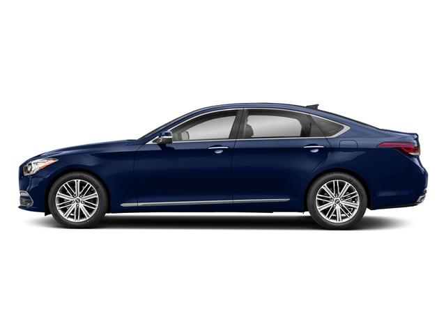 Adriatic Blue 2018 Genesis G80 Pictures G80 3.8L AWD photos side view