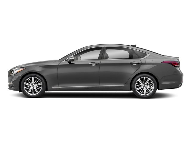 Parisian Gray 2018 Genesis G80 Pictures G80 3.8L AWD photos side view