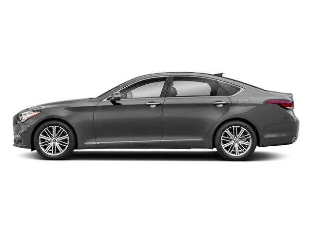 Parisian Gray 2018 Genesis G80 Pictures G80 3.8L RWD photos side view