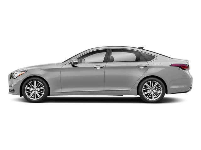 Santiago Silver 2018 Genesis G80 Pictures G80 3.8L AWD photos side view