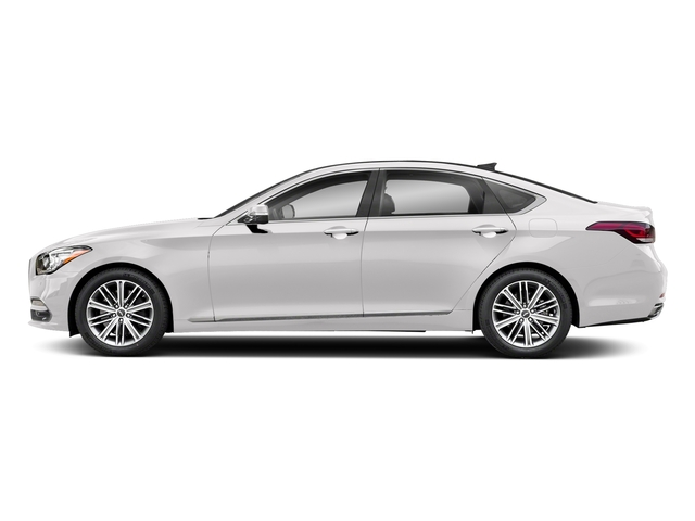 Casablanca White 2018 Genesis G80 Pictures G80 3.8L RWD photos side view