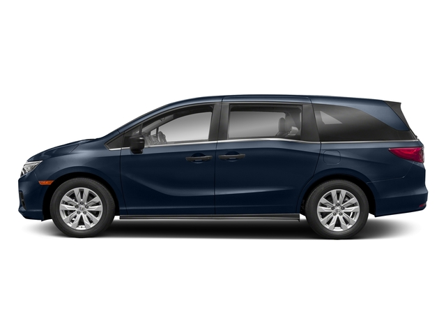 Obsidian Blue Pearl 2018 Honda Odyssey Pictures Odyssey LX Auto photos side view