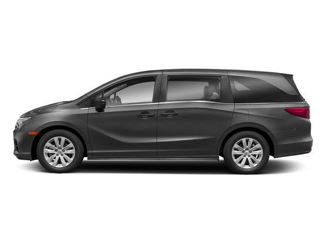 Modern Steel Metallic 2018 Honda Odyssey Pictures Odyssey LX Auto photos side view