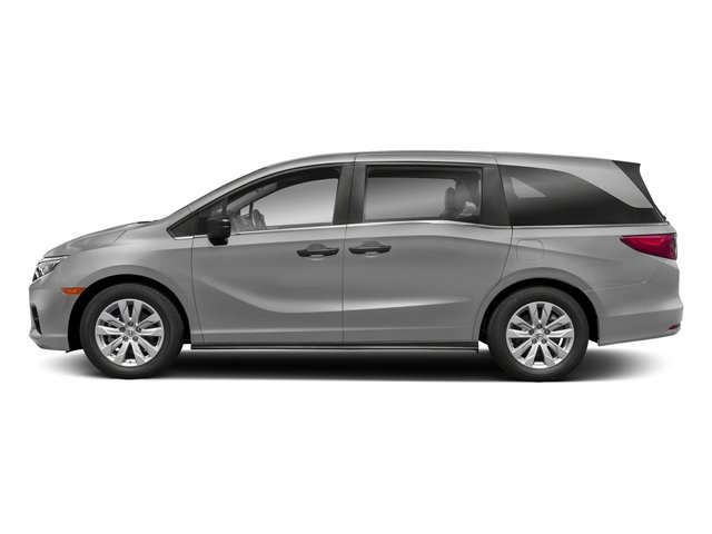 Lunar Silver Metallic 2018 Honda Odyssey Pictures Odyssey LX Auto photos side view