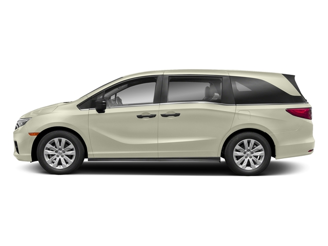 White Diamond Pearl 2018 Honda Odyssey Pictures Odyssey LX Auto photos side view