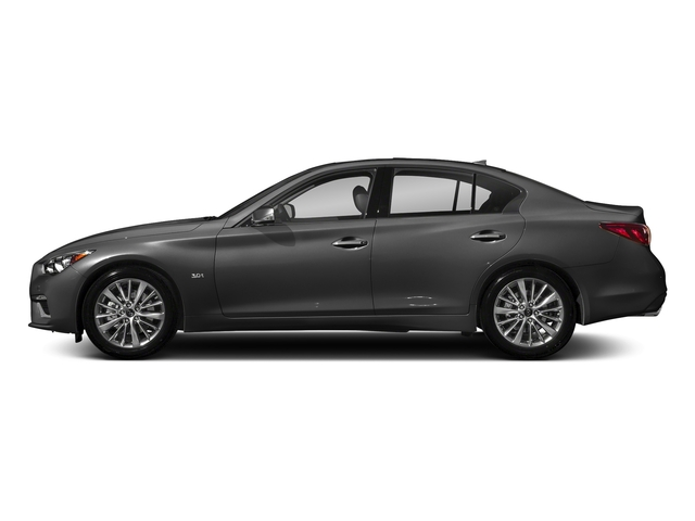 Graphite Shadow 2018 INFINITI Q50 Pictures Q50 2.0t PURE RWD photos side view