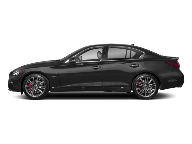 Graphite Shadow 2018 INFINITI Q50 Pictures Q50 3.0t SPORT AWD photos side view