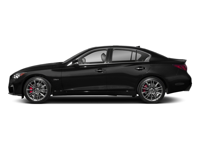 Black Obsidian 2018 INFINITI Q50 Pictures Q50 3.0t SPORT AWD photos side view