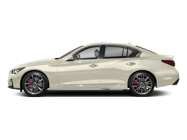 Majestic White 2018 INFINITI Q50 Pictures Q50 3.0t SPORT AWD photos side view