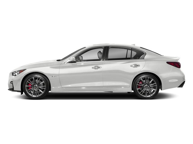 Pure White 2018 INFINITI Q50 Pictures Q50 3.0t SPORT AWD photos side view