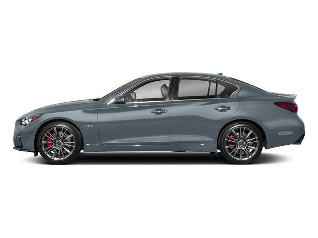 Hagane Blue 2018 INFINITI Q50 Pictures Q50 3.0t SPORT AWD photos side view