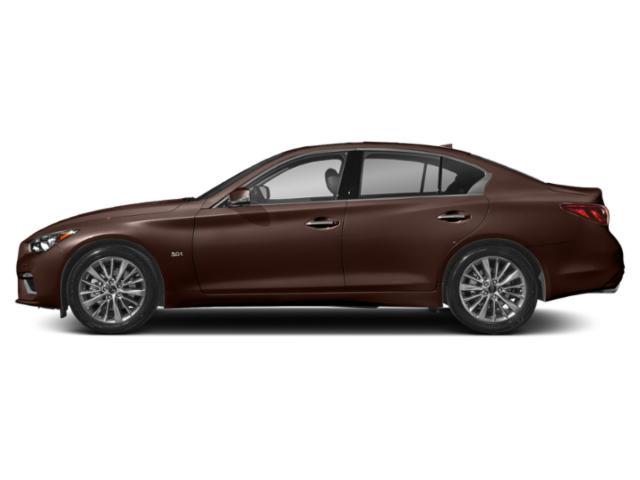 Mocha Almond 2018 INFINITI Q50 Pictures Q50 Sedan 4D 3.0T Luxe AWD photos side view
