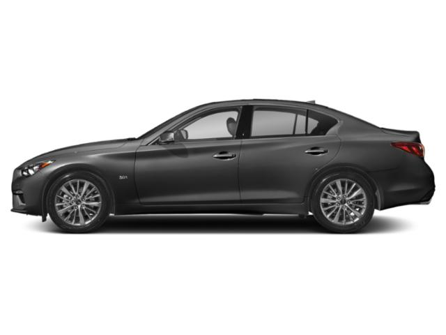 Graphite Shadow 2018 INFINITI Q50 Pictures Q50 Sedan 4D 2.0T Pure AWD photos side view