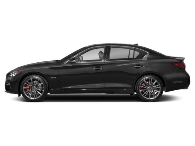 Black Obsidian 2018 INFINITI Q50 Pictures Q50 RED SPORT 400 RWD photos side view