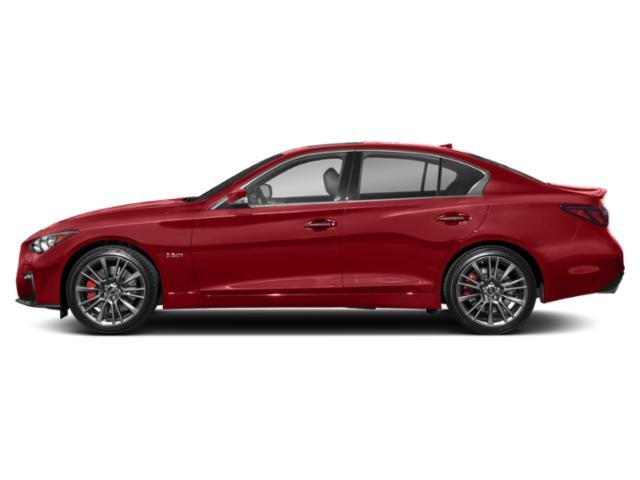 Dynamic Sunstone Red 2018 INFINITI Q50 Pictures Q50 Sedan 4D 3.0T Red Sport AWD V6 Turbo photos side view