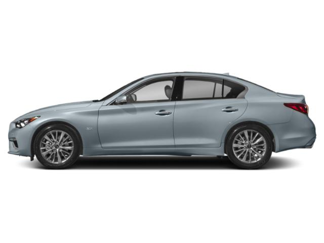 Hagane Blue 2018 INFINITI Q50 Pictures Q50 3.0t LUXE AWD photos side view
