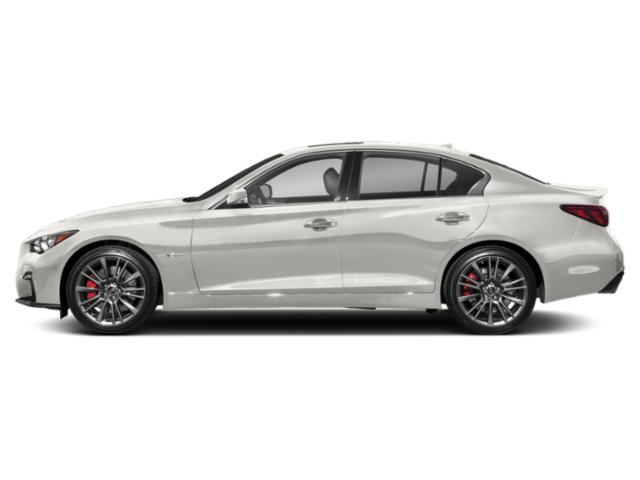 Majestic White 2018 INFINITI Q50 Pictures Q50 Sedan 4D 3.0T Red Sport V6 Turbo photos side view