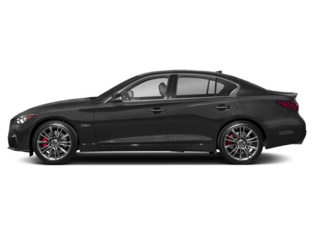 Graphite Shadow 2018 INFINITI Q50 Pictures Q50 3.0t SPORT RWD photos side view