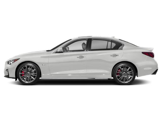 Pure White 2018 INFINITI Q50 Pictures Q50 3.0t SPORT RWD photos side view