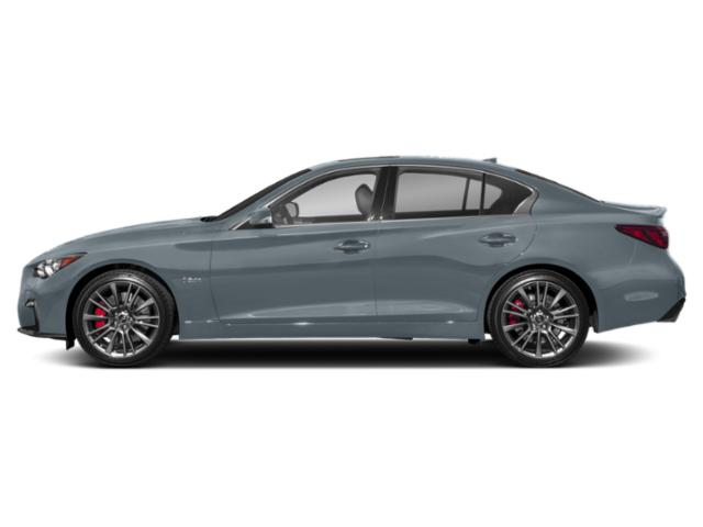 Hagane Blue 2018 INFINITI Q50 Pictures Q50 3.0t SPORT RWD photos side view